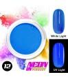 NEON UV Pigment Nail Powder ABA Group Blue 12