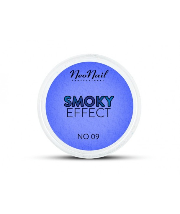 NeoNail Smoky Effect Nail Powder - Dark Blue 09