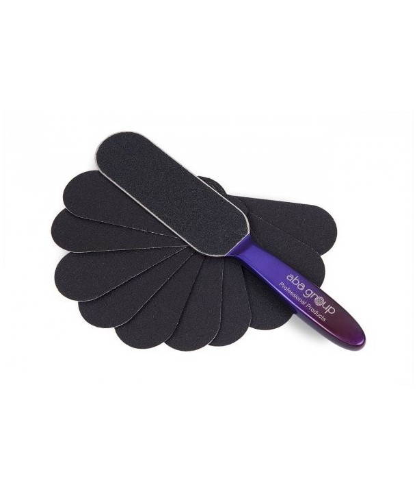 ABA Group Purple Foot File + 10 Extra Abrasive Pads