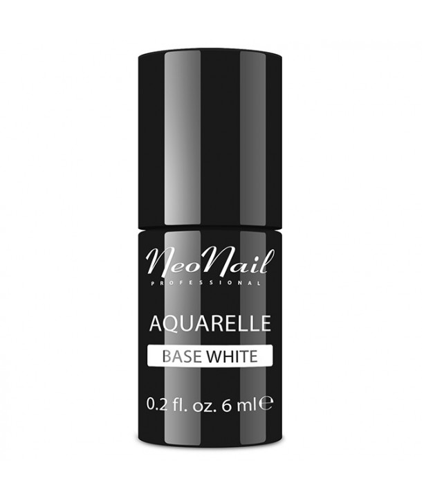 NeoNail Hybrid Nail Polish 6 ml - Aquarelle Base White