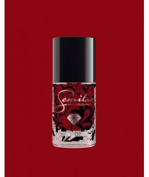 027 Nail Polish Semilac Intense Red 7ml