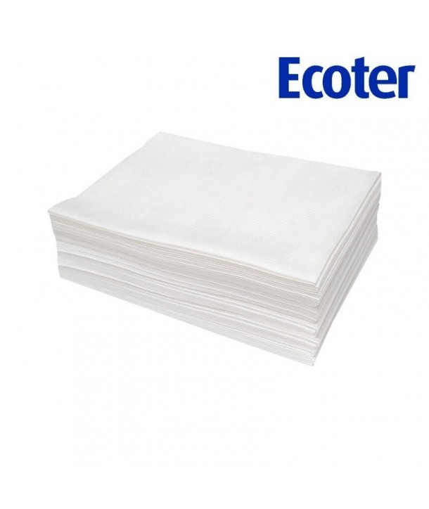 100pcs 76x50 ECOTER Disposable Hairdressing Towels EKO Higiena