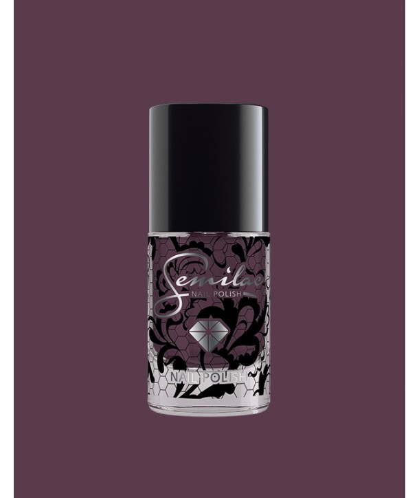 075 Nail Polish Semilac Stylish Brown 7ml