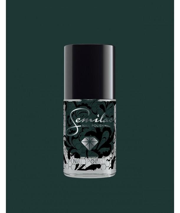 079 Nail Polish Semilac Dark Green Pearl 7ml
