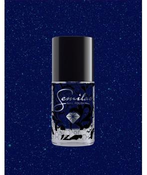 087 Nail Polish Semilac Glitter Indigo 7ml