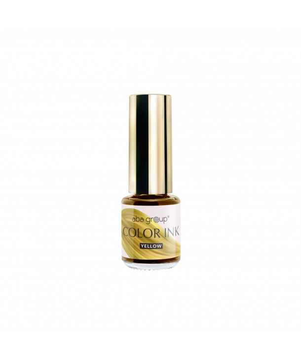 Color Yellow INK Aba Group 5ml Nail Art Ink