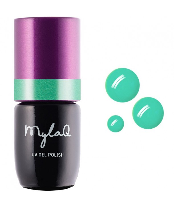 M113 MylaQ My Electronic Music Hybrid Nail Polish 5ml