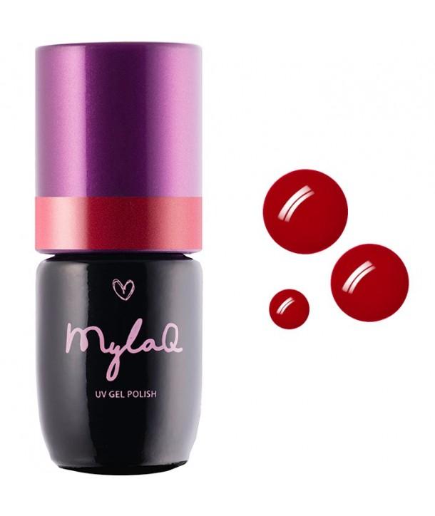 M069 MylaQ My Red Velvet Hybrid Nail Polish