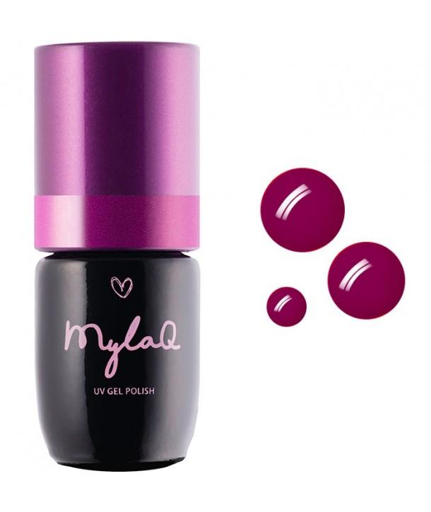 M008 MylaQ My Hot Magenta Hybrid Nail Polish