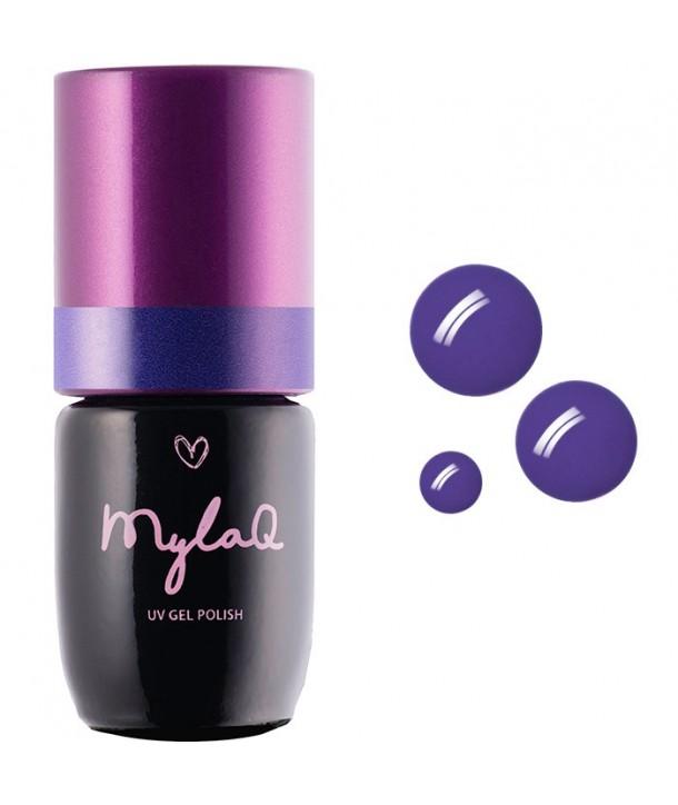 M010 MylaQ My Royal Violet Hybrid Nail Polish