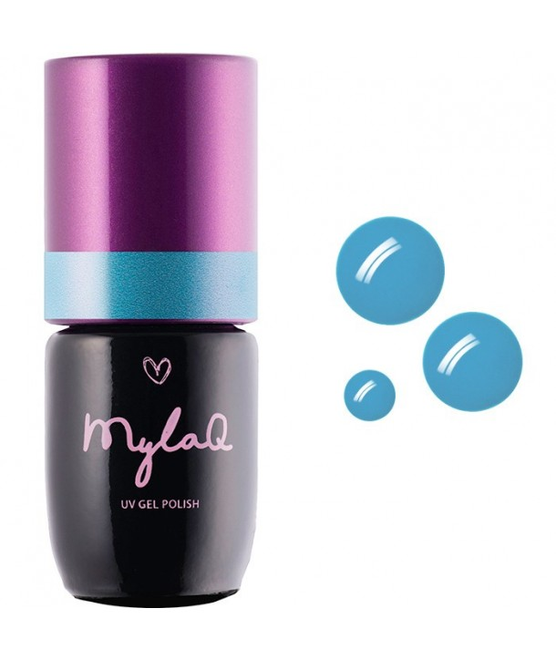 M017 MylaQ My Blue Lagoon Hybrid Nail Polish