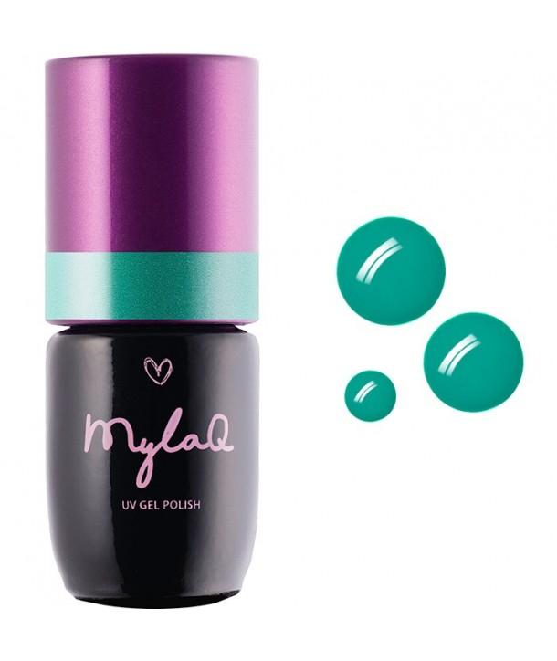 M047 MylaQ My Lucky Clover Hybrid Nail Polish