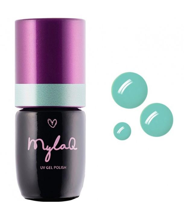 M045 MylaQ My Mint Kiss Hybrid Nail Polish