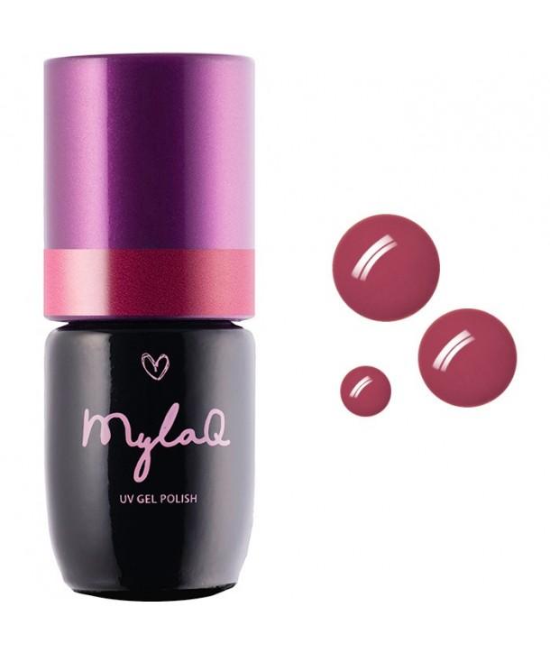 M040 MylaQ My Dirty Pink Hybrid Nail Polish