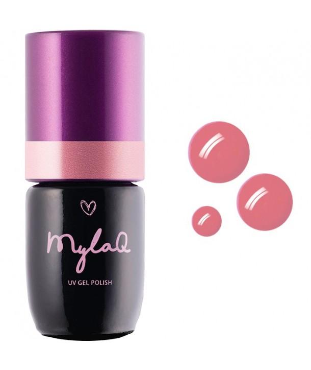 M054 MylaQ My Creamy Peach Hybrid Nail Polish