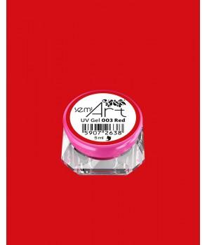 Semi Art UV Gel 003 Red