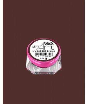 Semi Art UV Gel 005 Brown