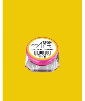 Semi Art UV Gel 007 Yellow