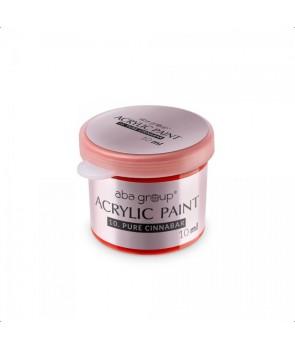 01 Pure White Acrylic Paint ABA Group 10ml