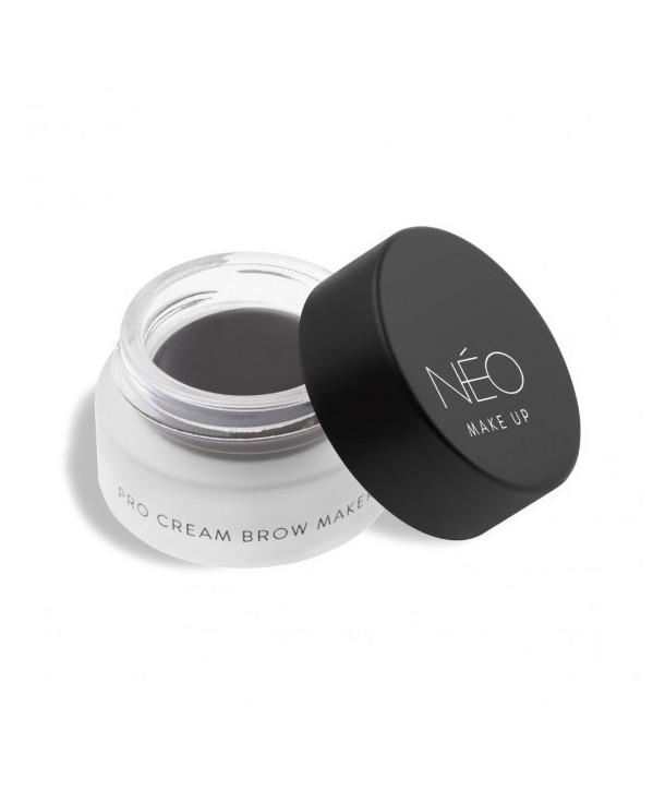 01 Soft black NEO Make Up Pro Cream Brow Maker 5ml