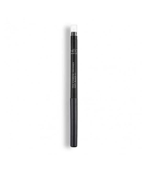 01 Soft black Pro Eyebrown Designer 0,3g